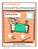 Healthy Habits:   Tracking Sleep Hours