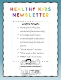 Healthy Kids Monthly Newsletter (Dec. - May)