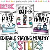 Healthy Kids Posters -Editable {For Translating into diffe