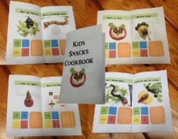 Healthy Kids Snacks Cookbook Project