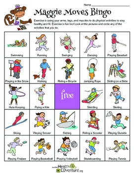 Healthy Kidz - Get Up and Get Going Lesson Plan K-1
