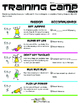 Healthy KidZ Exercise:   Get Up and Get Going Lesson Plan Gr 2-3