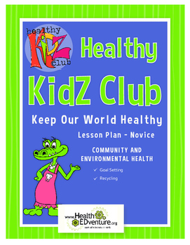 Our Healthy World Lesson Plan Gr 2-3
