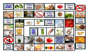Healthy Lifestyle & Nutrition Board Game