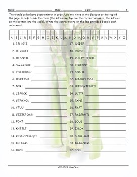 Healthy Lifestyle-Nutrition Decoding Worksheet