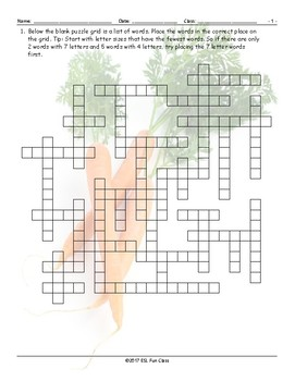Healthy Lifestyle-Nutrition Framework Puzzle