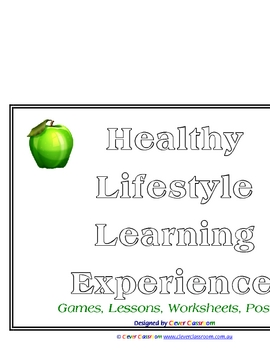Healthy Lifestyle ebook Themed Unit - 31 pages
