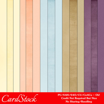 Healthy Lifestyles 2 A4 size Card Stock Digital Papers