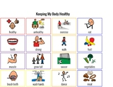 Healthy Living Communication Board
