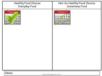 Healthy Living - Making Healthy Food Choices Centers for Primary