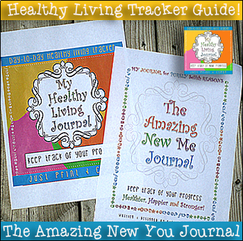 My Healthy Living Food Nutrition Exercise Journal / 300 Plus Pages / Print & Go!