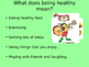 Healthy Living Powerpoint
