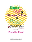 Healthy Living Weekly Lesson Plan - Homeschool, Preschool, PreK, Kindergarten