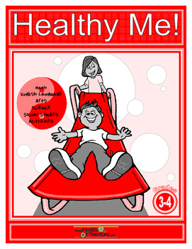 Healthy Me- Math, Science and Literacy Workbook