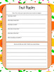 Healthy Me - Activities, Graphs, Poetry and Certificate
