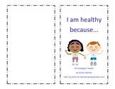 Healthy Me Emergent Reader for pre-k, k or 1st grade