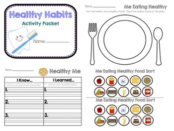 Healthy Me Packet
