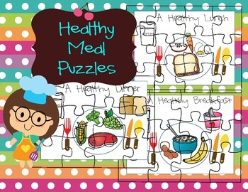Healthy Meal Puzzles