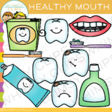 Healthy Mouth Dental Clip Art