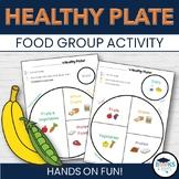 My Healthy Plate: Food Group Cut & Paste