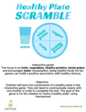 Healthy Plate Scramble