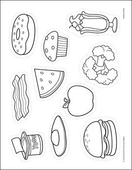 "Healthy Plates - Girl Scout Daisies - ""Gloria - Purple Petal"" Pack (Step 3)"