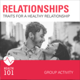 Healthy Relationship Activity- Healthy Friendships and Dating Qualities