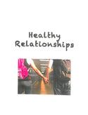 Healthy Relationships Activities