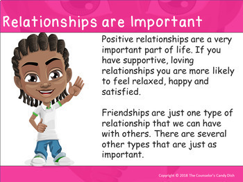 Healthy Relationships: Getting Along With Others - Interactive PowerPoint Lesson