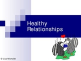 Healthy Relationships PowerPoint Presentation Lesson Plan