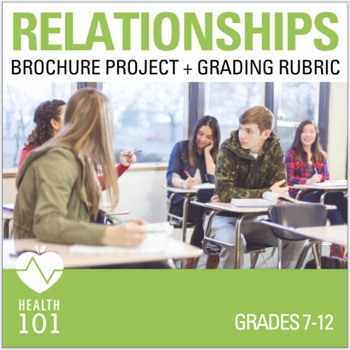 Healthy Relationships & Real Love- Health Brochure Project and Worksheet Guide