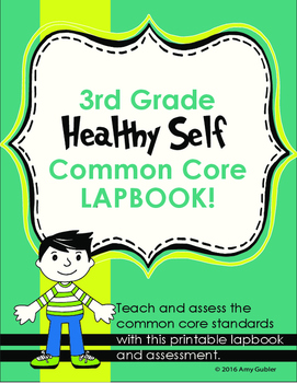 Healthy Self Common Core Lapbook - Body Systems and Nutrition