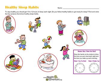 Healthy Sleep Habits