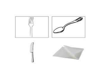 Visuals to Teach Place Setting Life Skills