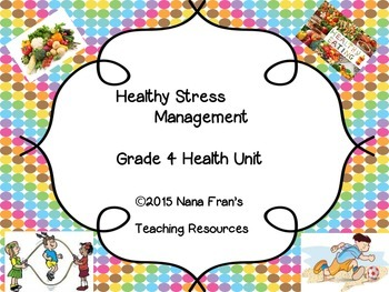 Healthy Stress Management