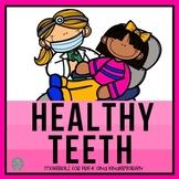 Healthy Teeth Materials for Preschool and Kindergarten