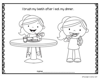 Healthy Teeth Materials for Preschool and Kindergarten