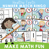 Healthy Teeth Number Game for Math