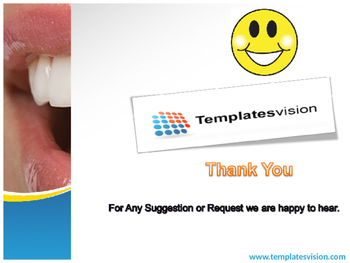 Healthy Teeth PPT Template