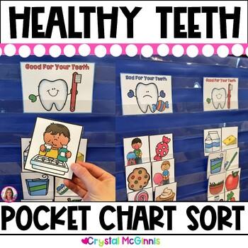 Healthy Teeth Pocket Chart Sort (Dental Health)