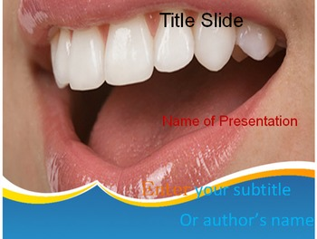 Healthy Teeth PowerPoint Template