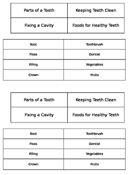 Healthy Teeth Sort