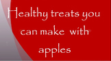 Healthy Treats You Can Make with Apples video
