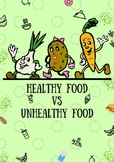 Healthy & Unhealthy FOOD