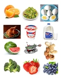 Healthy Unhealthy Food Picture Sort