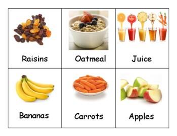 Healthy Vs Unhealthy Food Sorting Activity By Purposefully Preschool