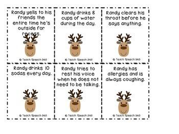 Healthy Voice Habits with Randy Reindeer