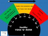 Healthy Voice 'O' Meter