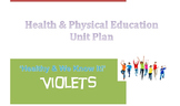 ACARA Healthy & We Know It UNIT PLAN Health and Physical Education Middle School