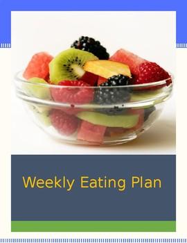 Healthy Weekly Eating Planner